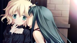 katahane yuri visual novel kiss