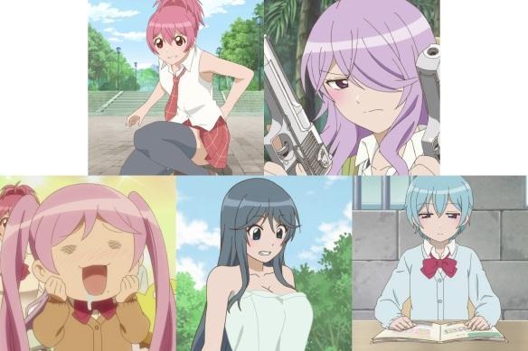 sabagebu characters