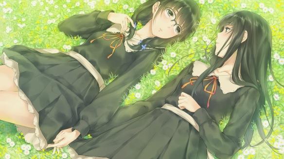 flowers yuri visual novel