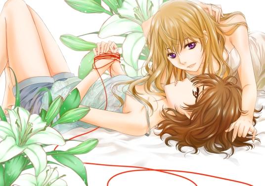 lily love yuri manga