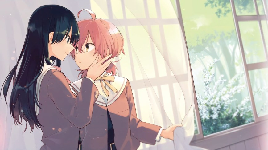 bloom into you yuri manga