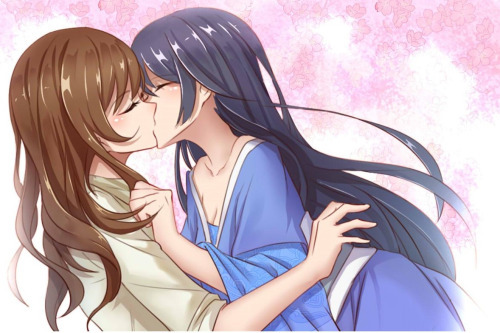 undying-love-yuri-kiss