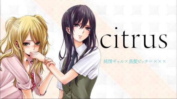 citrus yuri anime