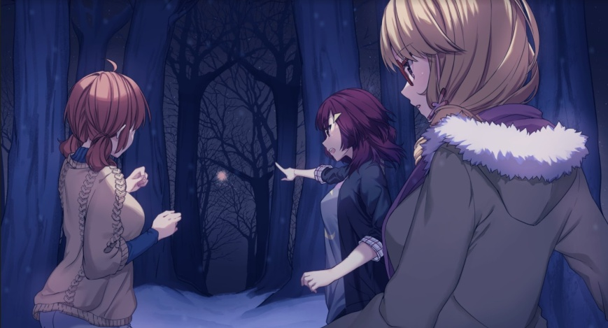 heart of the woods yuri visual novel