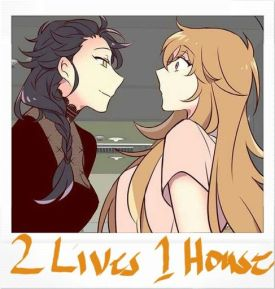 2 lives 1 house manga