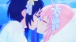 happy sugar life shio satou yuri kiss