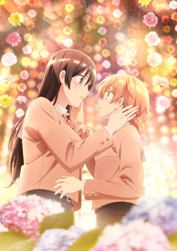 bloom into you yuri anime