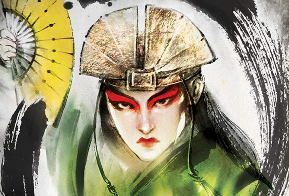 the rise of kyoshi avatar novel